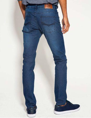 imagem de Calça Jeans Slim FP Dark Delavê Delavê