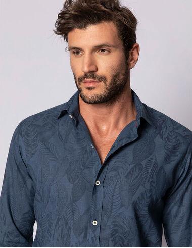 imagem de Camisa Blue Forest Azul Índigo
