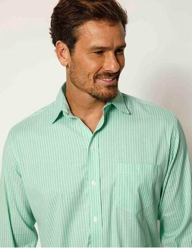 imagem de Camisa Green Stripes Verde