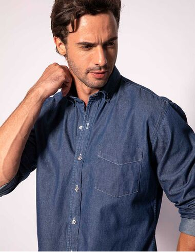 imagem de Camisa Manga Longa Jeans Navy Jeans