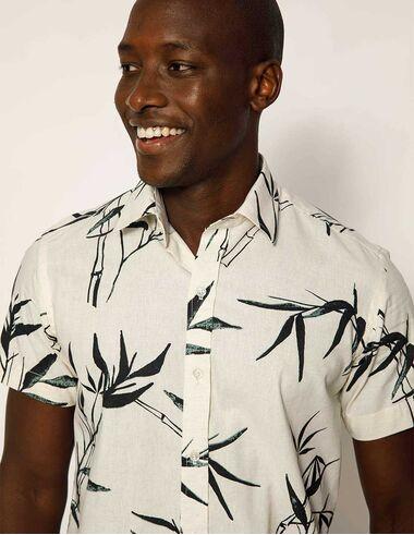 imagem de Camisa MC Estampada Bambu