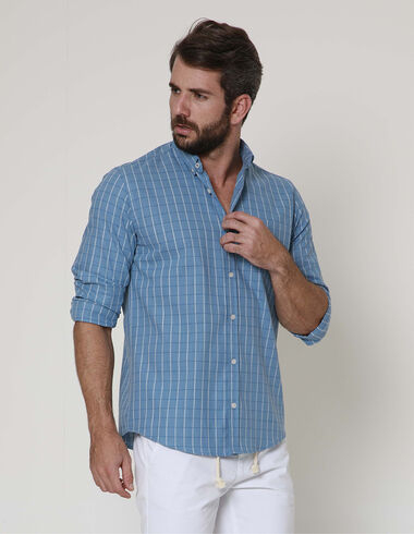 imagem de Camisa Michigan Azul Jeans
