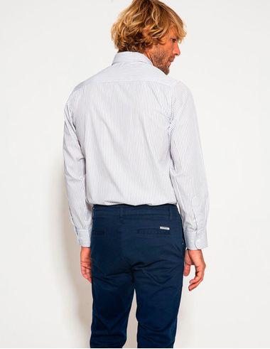 imagem de Camisa Milano Branco/Marinho
