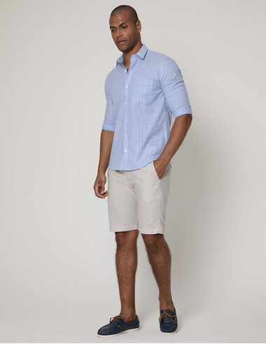 imagem de Camisa Tricoline El Captian Azul