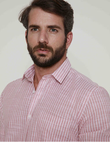 imagem de Camisa Tricoline El Captian Rosa