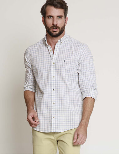 imagem de Camisa Xadrez Ventanas Off White