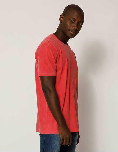 imagem de T-shirt Stone Básica Vermelho