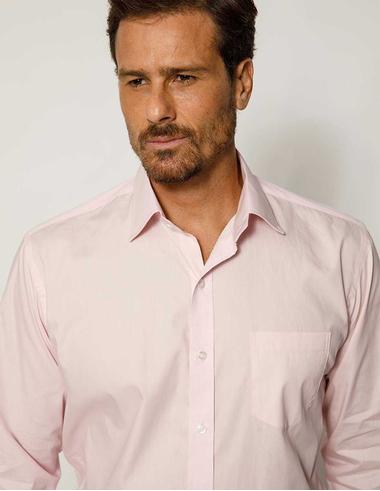 imagem de Camisa Tricoline FT Soho Colors Rosa Bebê