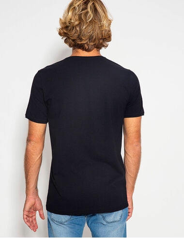imagem de T-shirt Lisa Preto
