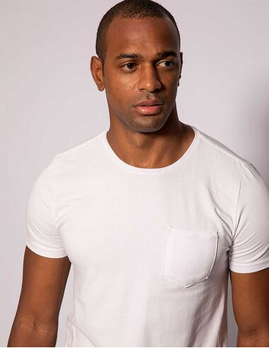 imagem de T-shirt Básica Soft Touch Premium Off White