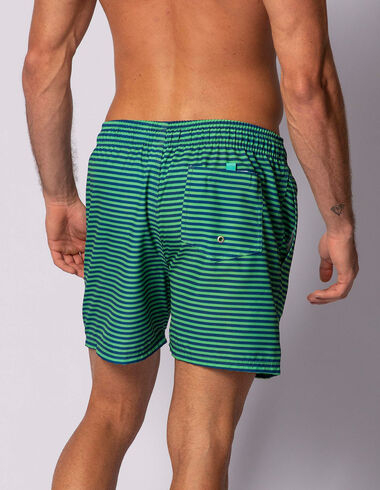 imagem de Short Navy Stripes Verde/Navy