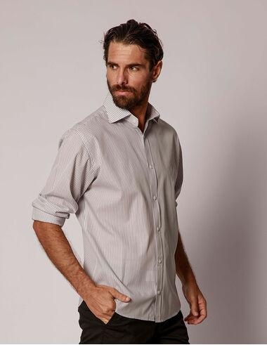 imagem de Camisa Tricoline Royale  Cinza