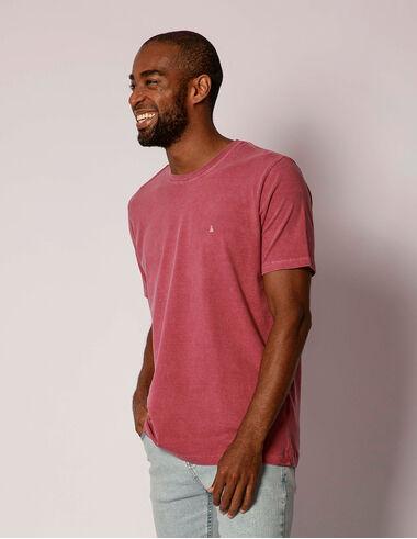 imagem de T-shirt Stone Básica Vinho