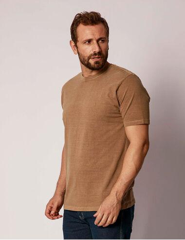 imagem de T-shirt Stone Básica Caramelo