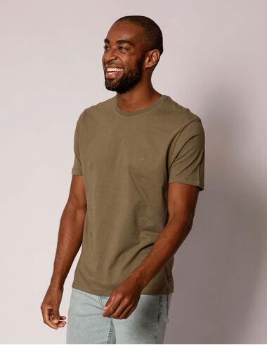 imagem de T-shirt Básica Verde Militar