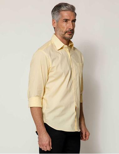 imagem de Camisa Tricoline FT Soho Colors Amarelo