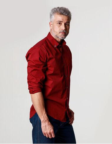 imagem de Camisa Fil a Fil Verona Vinho