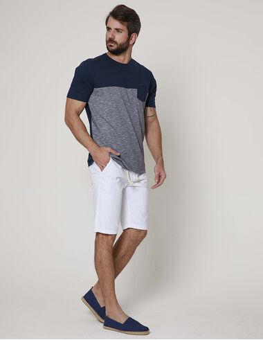 imagem de T-Shirt Recorte 2 Textures Indigo