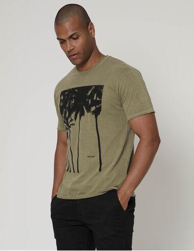 imagem de T-shirt Quadro Palms Concreto
