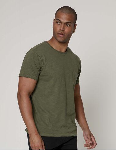 imagem de T-shirt Bolsinho Urban Verde Militar