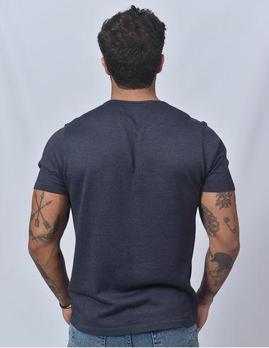 imagem de T-shirt Tricot Marinho