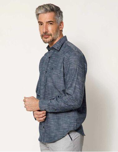 imagem de Camisa Flamê Rustic Azul