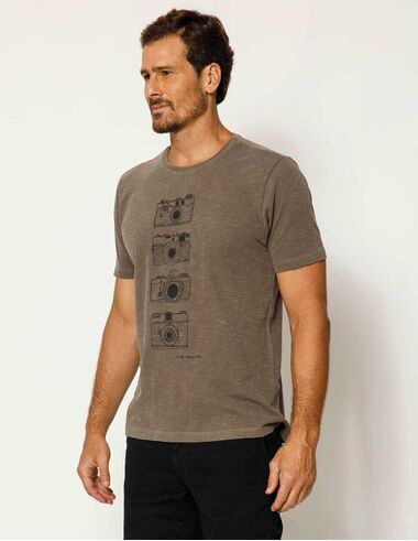 imagem de T-shirt Máquina Stonada Cinza