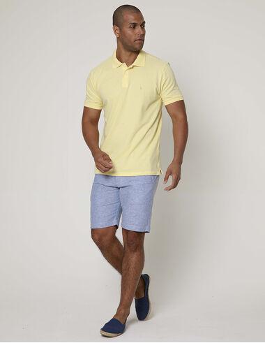 imagem de Polo Básica Miami Amarelo