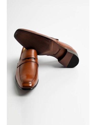 imagem de Sapato Social Sem Cadarço GT Whisky
