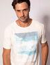 imagem do produto  T-shirt Aquarela Praia Drone