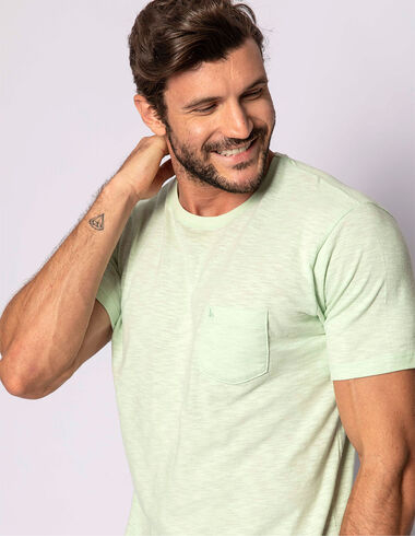 imagem de T-shirt Flamê Reativo Verde