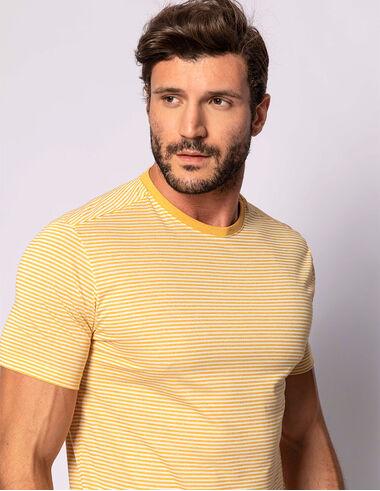 imagem de T-shirt FT Molinê Seaside Amarelo