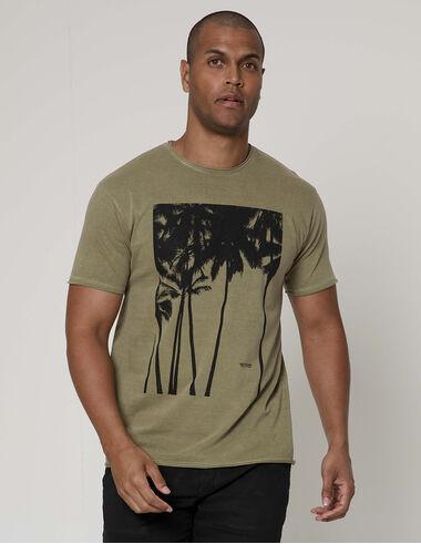 imagem de T-shirt Quadro Palms