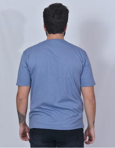 imagem de T-shirt Stripes Indigo