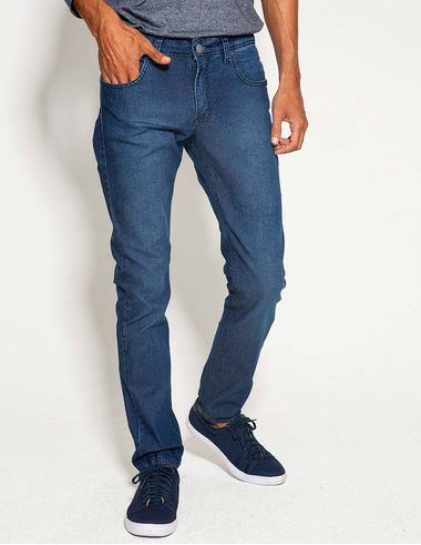 imagem de Calça Jeans Slim FP Dark Delavê
