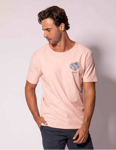 imagem de T-shirt Aquarela Coral