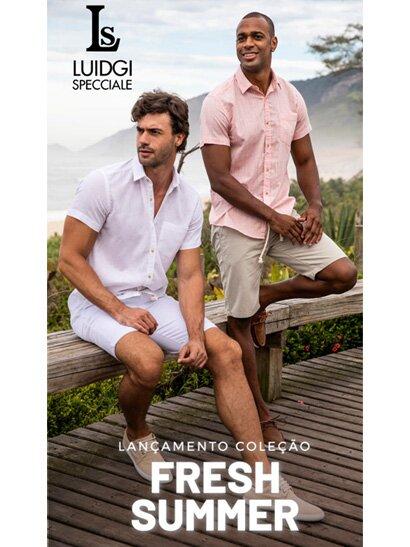Lookbook Luidgi Specciale Coleção Fresh Summer